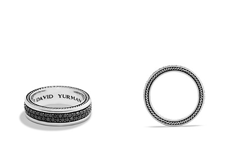 David Yurman Streamline Two-Row Band Ring with Black Diamonds - Bloomingdale's_2