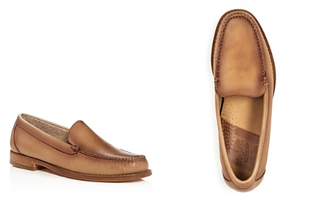 G.H. Bass & Co. Men's Lance Leather Moc Toe Loafers - Bloomingdale's_2