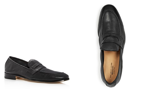 The Men's Store at Bloomingdale's Men's Leather Apron Toe Penny Loafers - 100% Exclusive_2