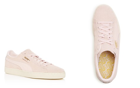 PUMA Men's Classic Perforated Suede Lace Up Sneakers - Bloomingdale's_2