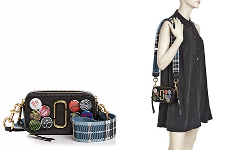 MARC JACOBS Badge Snapshot Leather Camera Bag - Bloomingdale's_2
