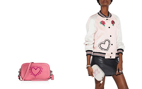 COACH 1941 x Keith Haring Glitter Motif Crossbody Clutch - Bloomingdale's_2