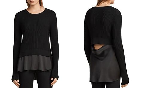 ALLSAINTS Taya Layered-Look Sweater - Bloomingdale's_2