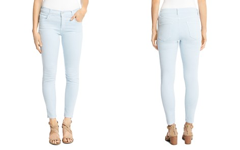 Karen Kane Zuma Skinny Cropped Jeans in Sky Blue - Bloomingdale's_2