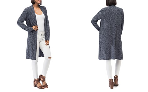 B Collection by Bobeau Jay Marled Open-Front Duster - Bloomingdale's_2