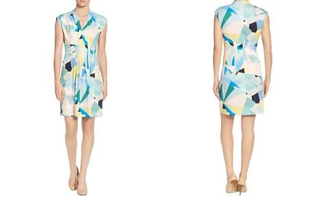 CATHERINE Catherine Malandrino Tinka Pleated Printed Dress - Bloomingdale's_2