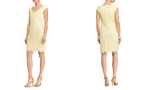 Lauren Ralph Lauren Petites Floral Lace Dress - Bloomingdale's_2