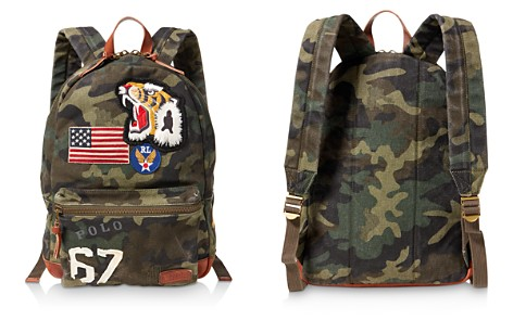 Polo Ralph Lauren Patchwork Camouflage Canvas Backpack - Bloomingdale's_2