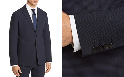 Theory Gansevoort Seersucker Check Cotton Slim Fit Suit Jacket - Bloomingdale's_2