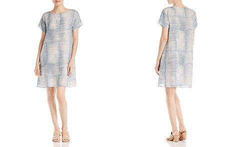 Eileen Fisher Petites Silk A-Line Dress - Bloomingdale's_2