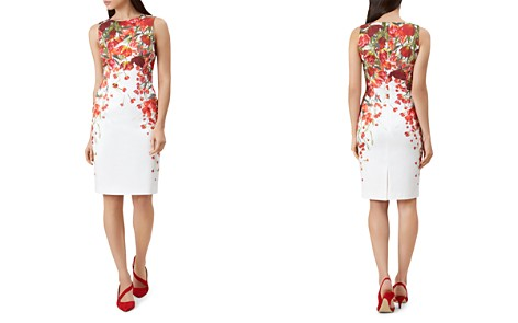 HOBBS LONDON Fiona Floral Print Dress - Bloomingdale's_2