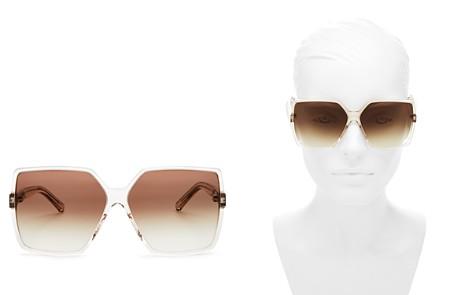 Saint Laurent Women's Betty Oversized Square Sunglasses, 63mm - Bloomingdale's_2