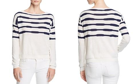 Splendid Striped Boat Neck Sweater - Bloomingdale's_2