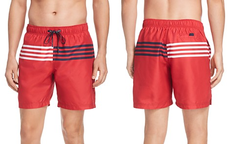Tommy Hilfiger Striped Swim Trunks - Bloomingdale's_2