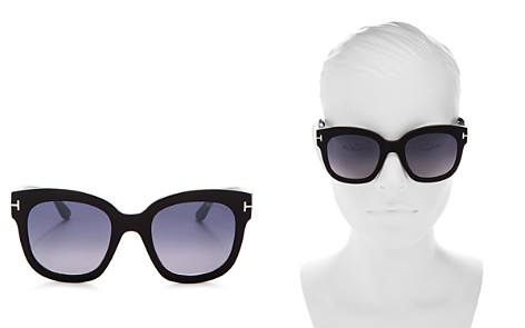 Tom Ford Women's Beatrix Mirrored Square Sunglasses, 58mm - Bloomingdale's_2