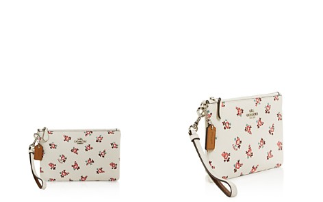 COACH Floral Print Small Wristlet - Bloomingdale's_2