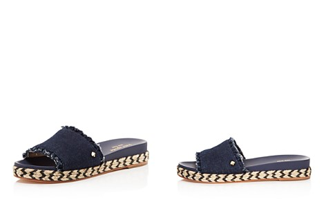 kate spade new york Women's Zahara Denim Slide Sandals - Bloomingdale's_2