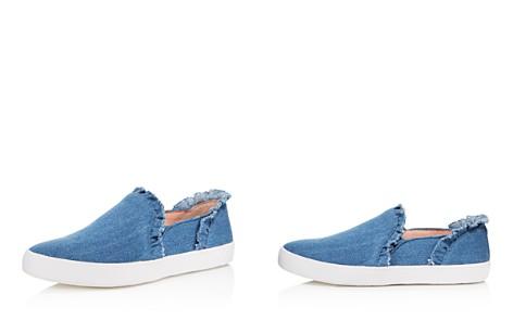 kate spade new york Women's Lilly Denim Ruffle Slip-On Sneakers - Bloomingdale's_2