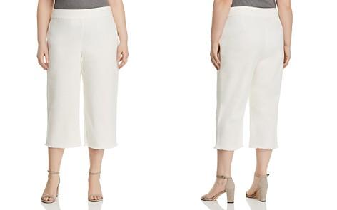 NIC+ZOE Plus Frayed Denim Wide-Leg Pants - Bloomingdale's_2