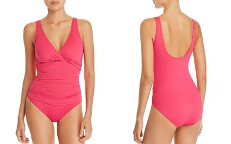 Lauren Ralph Lauren Beach Twist Underwire One Piece Swimsuit - Bloomingdale's_2