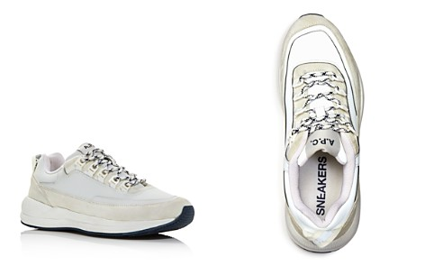 A.P.C. Men's Techno Homme Reflective Lace Up Sneakers - Bloomingdale's_2