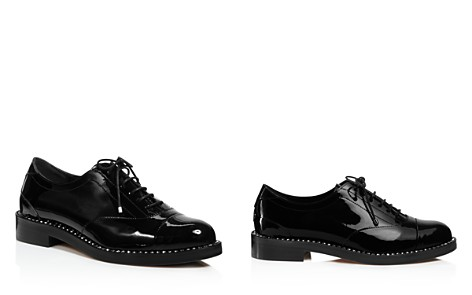 Jimmy Choo Women's Reeve Crystal-Trimmed Patent Leather Oxfords - Bloomingdale's_2