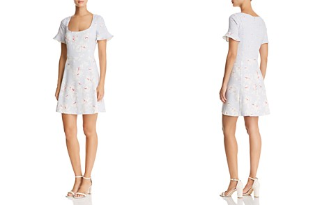 FRENCH CONNECTION Alba Floral Dress - Bloomingdale's_2