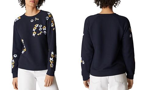 Whistles Lottie Floral Sweatshirt - Bloomingdale's_2