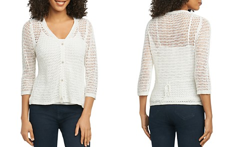 Foxcroft Open-Stitch Cardigan - Bloomingdale's_2