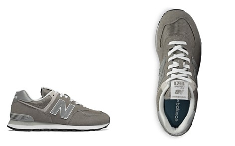 New Balance Men's Classic 574 Suede Lace Up Sneakers - Bloomingdale's_2