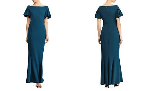 Lauren Ralph Lauren Flutter-Sleeve Gown - Bloomingdale's_2