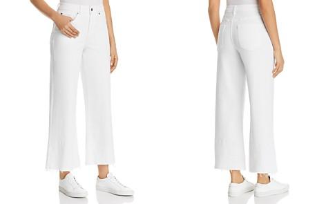 1.STATE Released-Hem Wide-Leg Jeans in Ultra White - Bloomingdale's_2