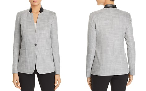 T Tahari Adara One-Button Blazer - Bloomingdale's_2