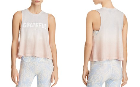 Spiritual Gangster Grateful Ombré Cropped Tank - Bloomingdale's_2