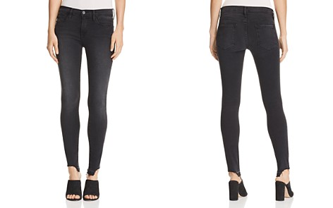 FRAME Le Skinny De Jeanne Released-Hem Jeans in Micoy - Bloomingdale's_2