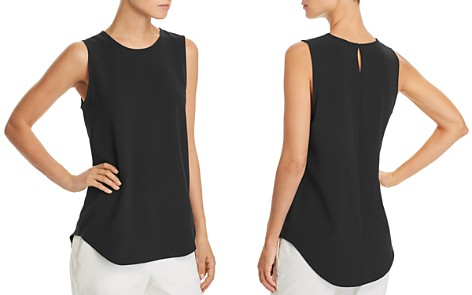 Theory Bringam Crepe Top - Bloomingdale's_2