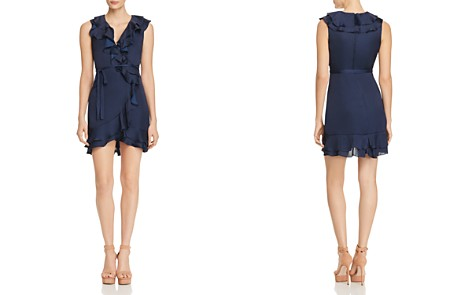 Bardot Ruffled Faux-Wrap Dress - Bloomingdale's_2