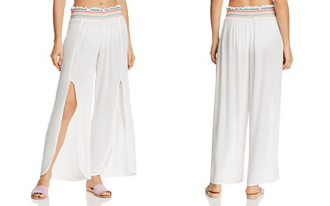 ISABELLA ROSE Crystal Cover Split Leg Pants Swim Cover-Up - Bloomingdale's_2