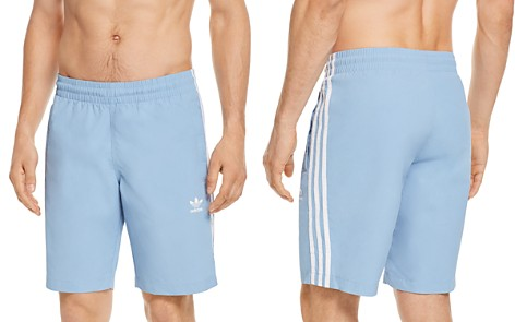 adidas Originals Three Stripe Swim Trunks - Bloomingdale's_2