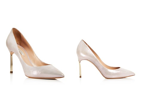 Casadei Women's Jolly Blade Shimmer Suede High-Heel Pumps - Bloomingdale's_2