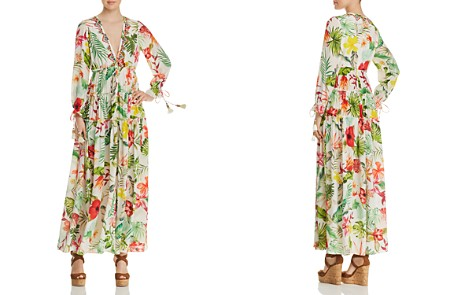 Rococo Sand Floral Silk Maxi Dress - Bloomingdale's_2
