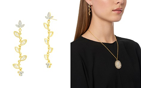 Freida Rothman Fleur Bloom Linear Drop Earrings - Bloomingdale's_2