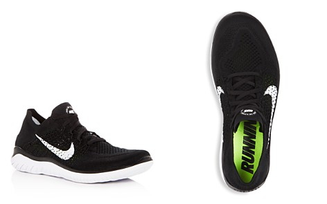 Nike Men's Free RN Flyknit Lace Up Sneakers - Bloomingdale's_2