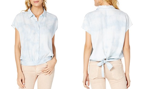 Michael Stars Back-Tie Chambray Shirt - Bloomingdale's_2
