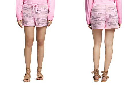 Sanctuary Camouflage-Print French Terry Shorts - Bloomingdale's_2