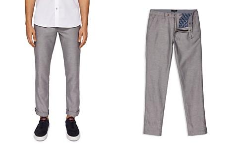 Ted Baker Cazzman Herringbone Slim Fit Pants - Bloomingdale's_2