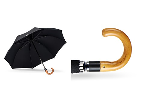 Shedrain Stratus Collection Manual Stick Crook Umbrella with Malacca Cane Handle - Bloomingdale's_2