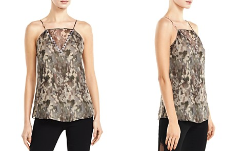 Haute Hippie No Regrets Abstract Camo-Print Silk Cami - Bloomingdale's_2