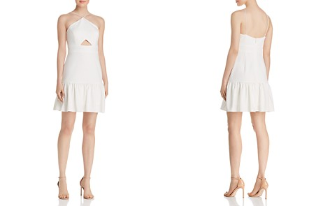 Aidan by Aidan Mattox Scuba Crepe Cocktail Dress - 100% Exclusive - Bloomingdale's_2