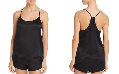Calvin Klein CK Black Silk Cami - Bloomingdale's_2